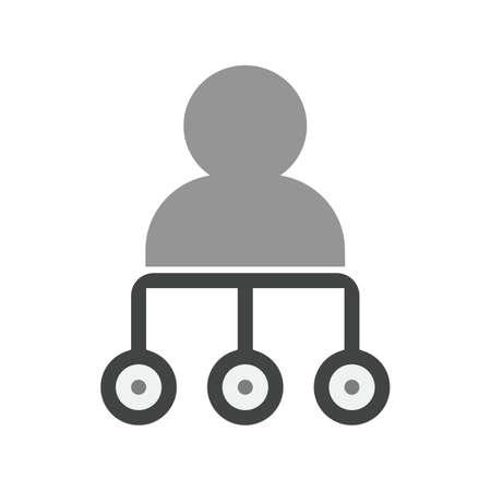 protected database: Los datos, servidor, icono de almacenamiento de vectores image.Can tambi�n ser utilizado para admin salpicadero. Adecuado para aplicaciones m�viles, aplicaciones web y medios impresos. Vectores