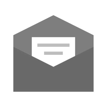 mail address: Mail, address, message icon vector image.Can also be used for admin dashboard. Suitable for mobile apps, web apps and print media. Illustration