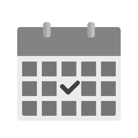 appointments: Calendar, dates, events icon vector image.Can also be used for admin dashboard. Suitable for mobile apps, web apps and print media.