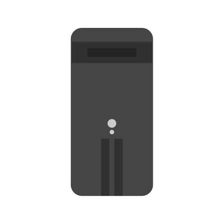 computer cpu: Computer, cpu, technology icon vector image. Can also be used for computer and hardware. Suitable for use on web apps, mobile apps and print media.