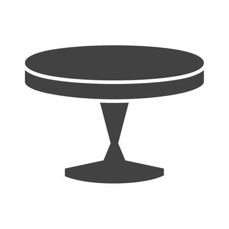 side table: Table, small, side icon vector image.Can also be used for furniture design. Suitable for mobile apps, web apps and print media. Illustration