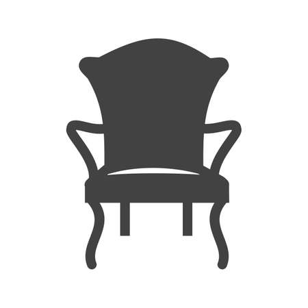 comfortable chair: Chair, comfortable, modern icon vector image.Can also be used for furniture design. Suitable for mobile apps, web apps and print media.