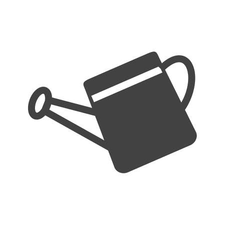 seau d eau: Seau, l'eau, l'�tain ic�ne vecteur image.Can �galement �tre utilis� pour le jardinage. Convient pour les applications mobiles, les applications Web et les m�dias imprim�s.