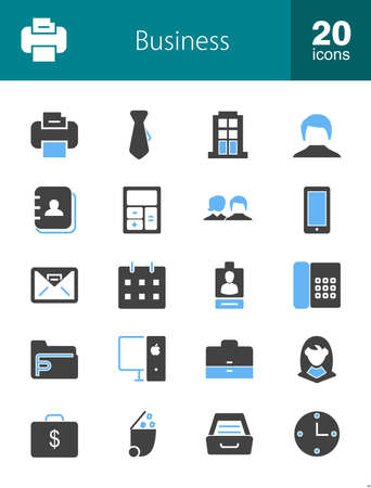 saving accounts: Banking, business, finance icon set. Can also be used for technology, economics, accounting. Suitable for web apps, mobile apps and print media.