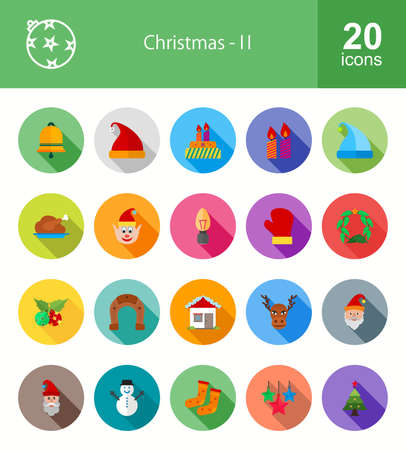 enjoyment: Christmas and Enjoyment icon set. Can also be used for celebration, holidays, and decoration. Suitable for web apps, mobile apps and print media.