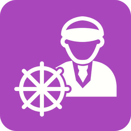 captain ship: Captain, ship, navigation icon vector image. Can also be used for professionals. Suitable for web apps, mobile apps and print media.