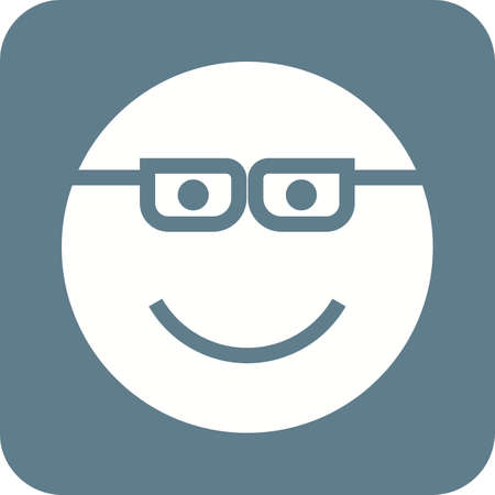 smug: Cartoon, bubble, smug icon vector image. Can also be used for emotions and halloween. Suitable for mobile apps, web apps and print media.