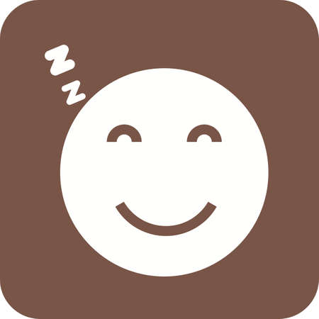 exhausting: Sleepy, tired, sleeping icon vector image. Can also be used for emotions and halloween. Suitable for mobile apps, web apps and print media.