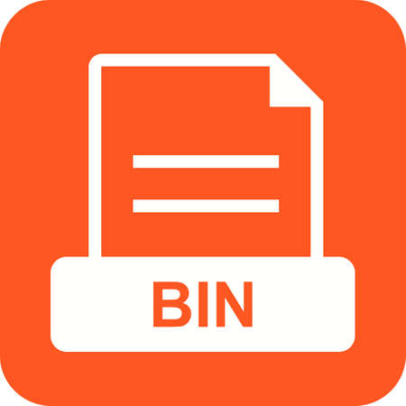delete icon: BIN, trash, delete icon vector image. Can also be used for file format, design and storage. Suitable for mobile apps, web apps and print media.
