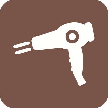 blow: Dryer, blow, hair icon vector image.Can also be used for home electronics and appliances. Suitable for mobile apps, web apps and print media.