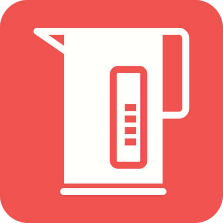 electric tea kettle: Kettle, electric, tea icon vector image.Can also be used for home electronics and appliances. Suitable for mobile apps, web apps and print media.