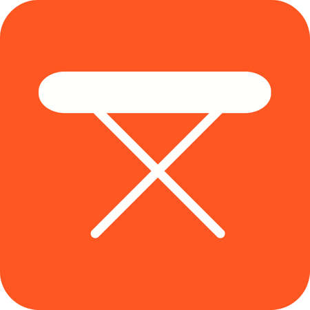 ironing board: Ironing, board, stand icon vector image.Can also be used for home electronics and appliances. Suitable for mobile apps, web apps and print media.