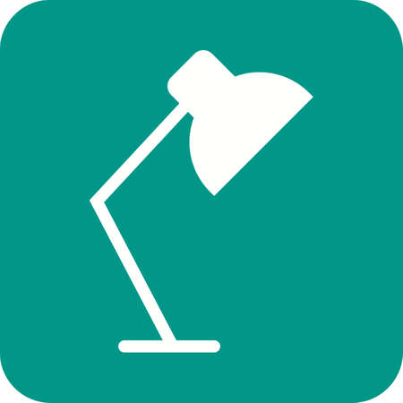 night table: Lamp, table, night icon vector image.Can also be used for home electronics and appliances. Suitable for mobile apps, web apps and print media. Illustration