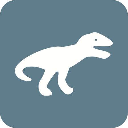 dinosaurio: Dinosaurios, imagen vectorial jur�sico, icono de los animales. Tambi�n se puede utilizar para los animales y de los insectos. Adecuado para aplicaciones m�viles, aplicaciones web y medios impresos.