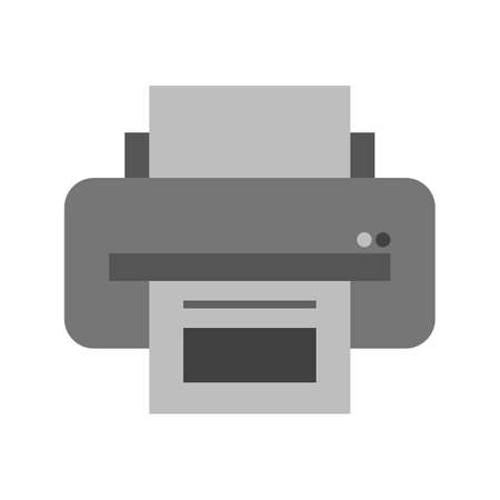 papier b�ro: Printer, paper, office icon vector image icon vector image. Can also be used for business, finance and accounts. Suitable for web apps, mobile apps and print media.