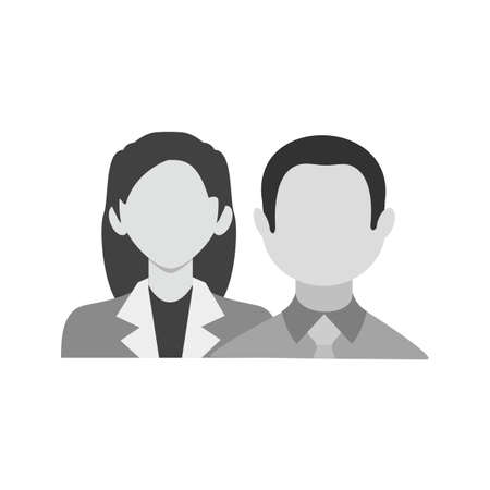 financial advisors: Estate, real, client icon vector image. Can also be used for business, finance and accounts. Suitable for web apps, mobile apps and print media. Illustration