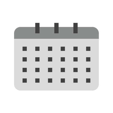 appointments: Dates, event, days icon vector image.Can also be used for user interface. Suitable for mobile apps, web apps and print media.