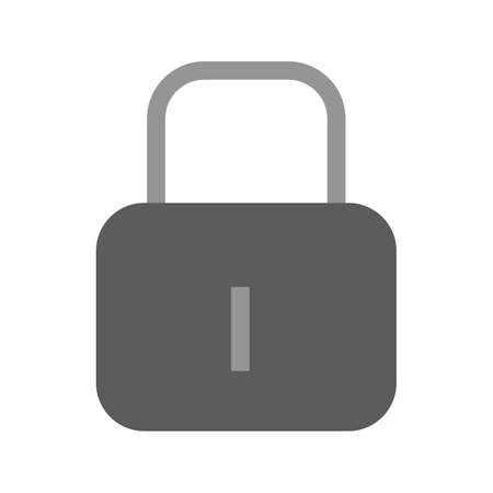Lock, security, protect icon vector image.Can also be used for user interface. Suitable for mobile apps, web apps and print media. Çizim