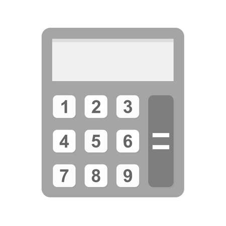 Calculator, mathematics, device icon vector image.Can also be used for banking, finance, business. Suitable for web apps, mobile apps and print media.