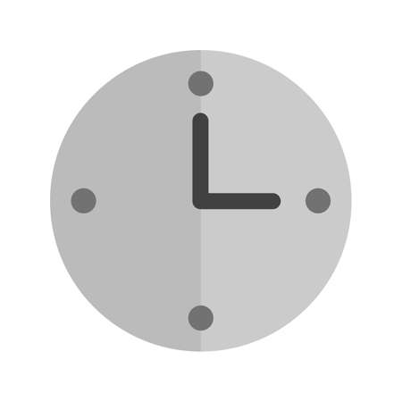 Time, hours, clock icon vector image.Can also be used for user interface. Suitable for mobile apps, web apps and print media.