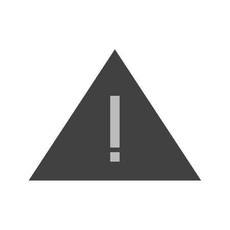 Waarschuwing, teken, uitroepteken vector image.Can ook worden gebruikt voor de gebruikersinterface. Geschikt voor mobiele apps, web apps en gedrukte media.