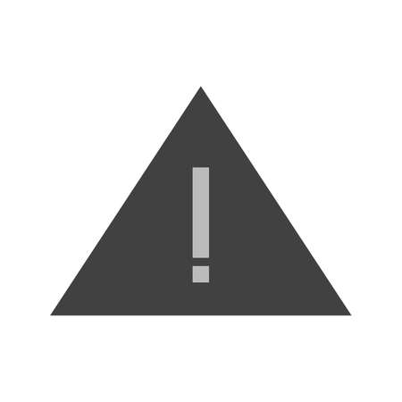 warning mark: Warning, mark, exclamation icon vector image.Can also be used for user interface. Suitable for mobile apps, web apps and print media.