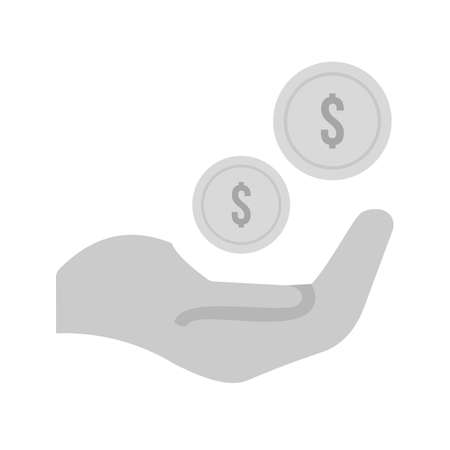 Monetary, funds, money, icon vector image.Can also be used for banking, finance, business. Suitable for web apps, mobile apps and print media. Ilustrace