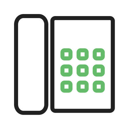 accounts: Phone, cradle, receiver icon vector image. Can also be used for business, finance and accounts. Suitable for web apps, mobile apps and print media.