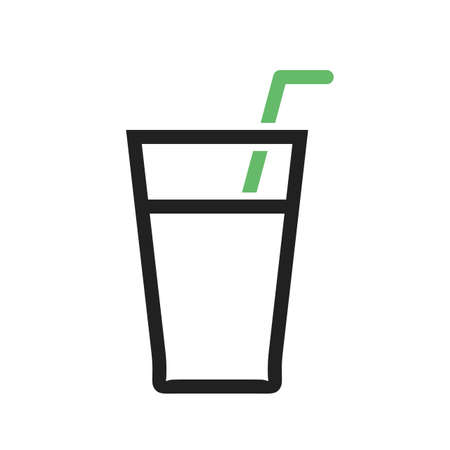 soft drink: Soft drink, juice, beverage icon vector image.Can also be used for summer, recreation and fun. Suitable for use on mobile apps, web apps and print media.