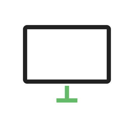 lcd: TV, lcd, monitor, icon vector image. Can also be used for computer and hardware. Suitable for use on web apps, mobile apps and print media.