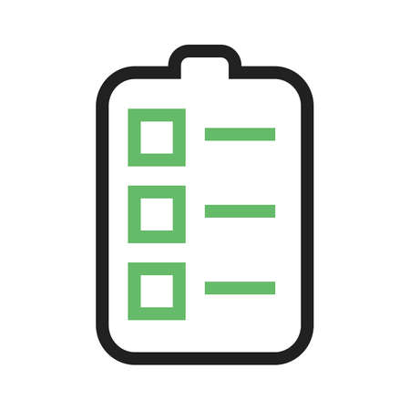 responsibilities: Task, assignment, job icon vector image.Can also be used for admin dashboard. Suitable for mobile apps, web apps and print media.
