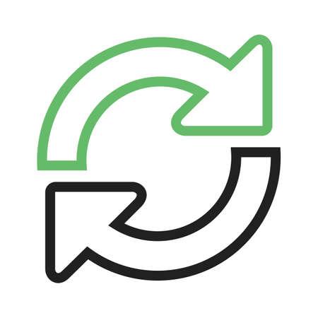 更新、アップロード、アイコン ベクトル イメージを修復します。管理ダッシュ ボードの使用もできます。携帯アプリ、web アプリ、印刷メディアに適しています。 写真素材 - 45109785