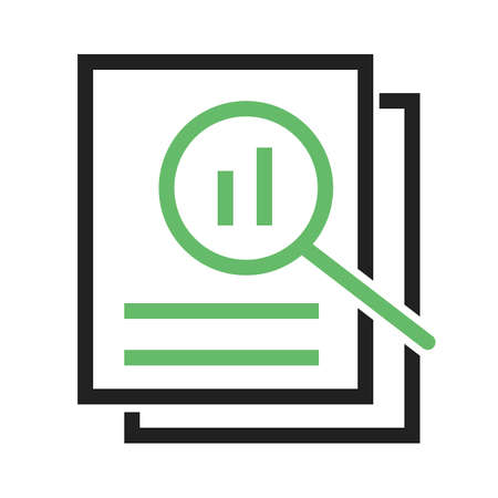 review icon: Overview, analysis,review icon vector image.Can also be used for admin dashboard. Suitable for mobile apps, web apps and print media.