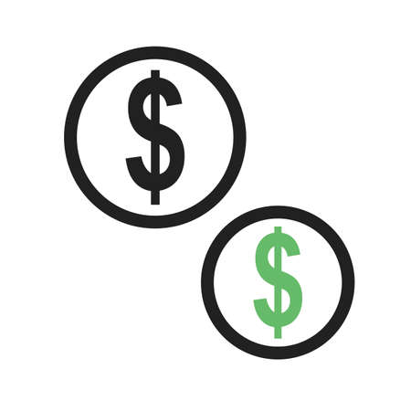 amount: Currency, euro, pound, dollar icon vector image.Can also be used for banking, finance, business. Suitable for web apps, mobile apps and print media.