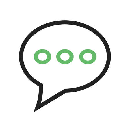 communicate: Messages, chat, communicate icon vector image. Can also be used for phone and communication. Suitable for use on web apps, mobile apps and print media.