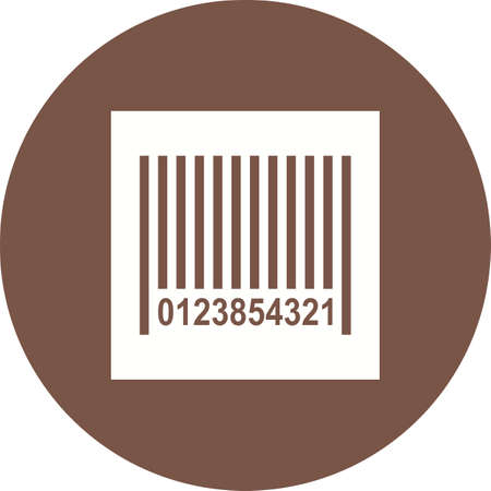 barcode scanner: Barcode, scanner, label icon vector image. Can also be used for Black Friday. Suitable for use on web apps, mobile apps and print media.