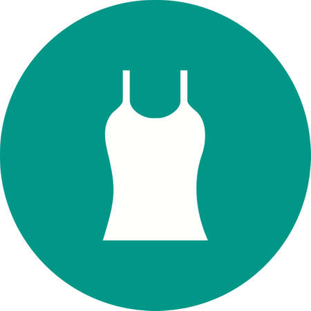 waistcoat: Vest, clothing, wear icon vector image. Can also be used for clothes and fashion. Suitable for web apps, mobile apps and print media.