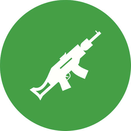 use pistol: Gun, pistol, handgun icon vector image. Can also be used for military. Suitable for use on web apps, mobile apps and print media.