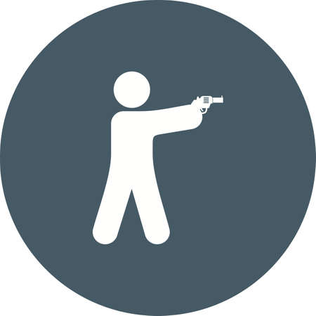 bullets: Shooting, hunting, bullets icon vector image. Can also be used for military. Suitable for use on web apps, mobile apps and print media.