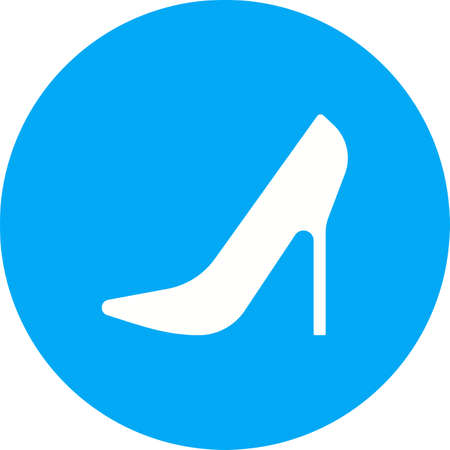 stilleto: Stilletos, heel, style icon vector image. Can also be used for wedding. Suitable for use on web apps, mobile apps and print media.