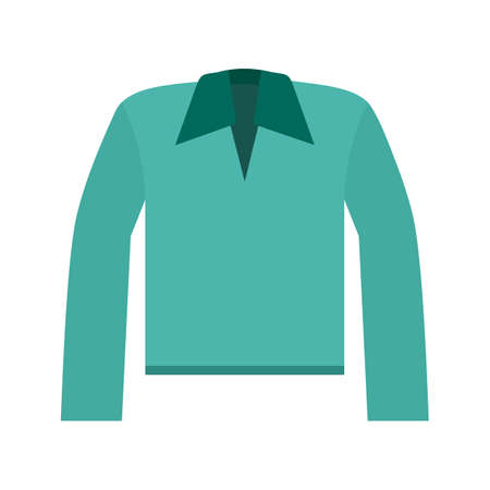 wrinkle: Polo, shirt, collar icon vector image. Can also be used for clothes and fashion. Suitable for web apps, mobile apps and print media.