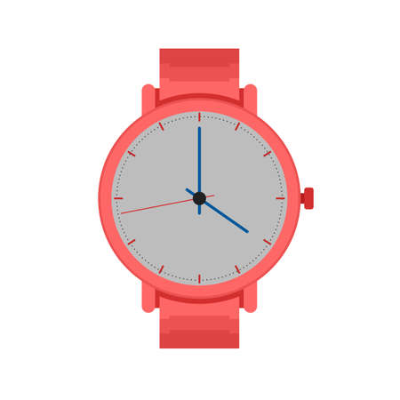 wrist watch: Watch, wrist, watches icon vector image. Can also be used for clothes and fashion. Suitable for web apps, mobile apps and print media.