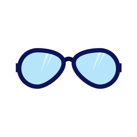 Sunglasses, summer, fashion icon vector image. Can also be used for clothes and fashion. Suitable for web apps, mobile apps and print media. Illustration