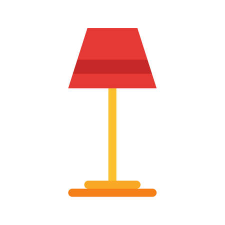night table: Lamp, table, night icon vector image. Can also be used for household objects. Suitable for use on web apps, mobile apps and print media.