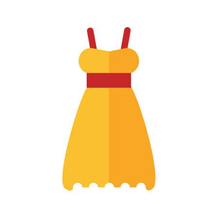 objetos de la casa: Vestido, la noche, la imagen del icono del vector femenina. Tambi�n se puede utilizar para objetos dom�sticos. Adecuado para su uso en aplicaciones web, aplicaciones m�viles y material de impresi�n. Vectores
