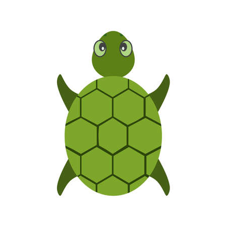 sea green: Turtle, sea, green icon vector image. Can also be used for Animals and Insects. Suitable for mobile apps, web apps and print media. Illustration