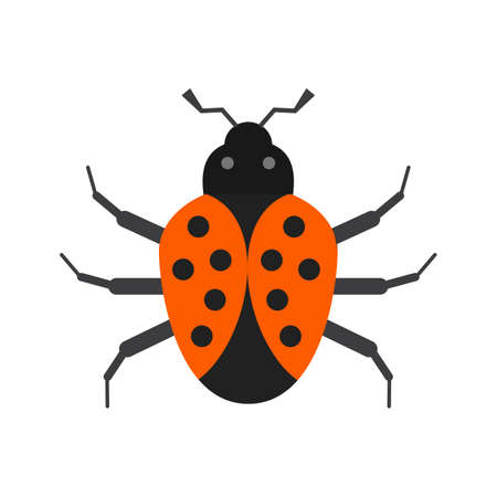 termite: Bug, crawler, insect icon vector image. Can also be used for Animals and Insects. Suitable for mobile apps, web apps and print media. Illustration