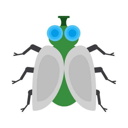 pesticida: Butterfly, insects,fly icon vector image. Can also be used for Animals and Insects. Suitable for mobile apps, web apps and print media. Vectores
