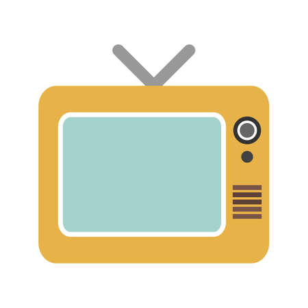 tv scherm: Television, tv, screen icon vector image. Can also be used for multimedia. Suitable for use on web apps, mobile apps and print media.