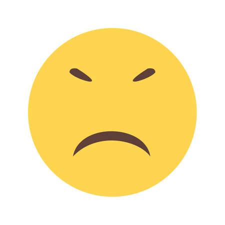 stubborn: Stubborn expression, upset icon
